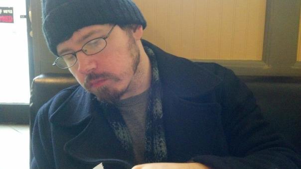 Author Eric Arvin